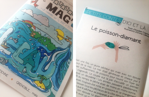 Patatras Mag ! lyon illustration gratuit