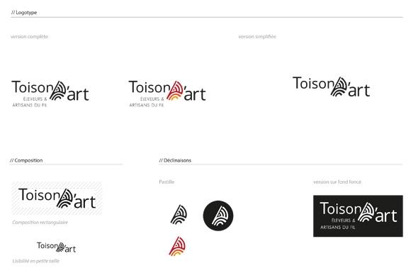 Logo de l'association la Toison d'art